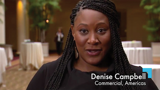 Denise Campbell, Commercial/Americas Talks About Valuing Diversity